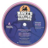 Prince Alla - Sweet Reggae Music / Mystical Powa - Sweet Dub Music 1 (Roots Youths) 12""